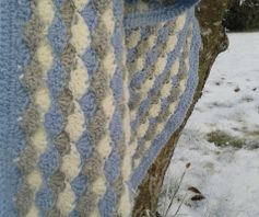 Stroller blanket Waves