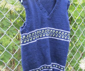 Vest Boy, knitted